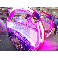 湖南乐吧车厂家直销各种广场游乐设备电瓶玩具车