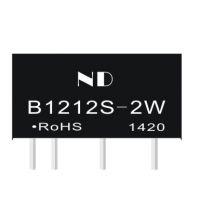 批发隔离电源模块价格,B1212S-2W厂家直销,dcdc电源芯片定制