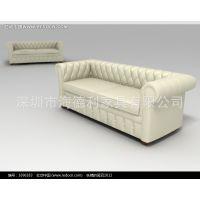 厂家直销 供应美式KTV卡座沙发 真皮沙发组合 物美价廉