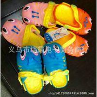 夏季爆款中童果冻鞋洞洞 卡通毛毛虫儿童凉拖鞋沙滩鞋批发厂家