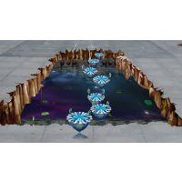 专业订制3D全景墙面立体地画 超震撼的视觉冲击3D画设计 产品3D画设计 3D画广告