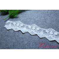 玛域仕供应本白3cm网布刺绣 蕾丝花边 定制批发服装辅料