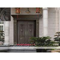 供应新世界门业新型别墅铜铝艺术门 铜铝门 铝铜门