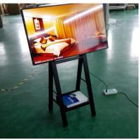 上海广告机多尺寸A型挂架广告机食品餐饮前台信息发布