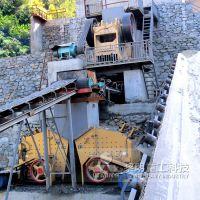 黎明重工 老虎克石机 山上爆破后石头加工生产线 山特维克破碎机大概多少钱