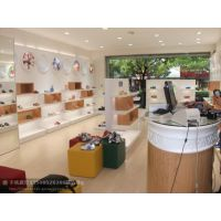 杭州惠利展柜厂家加工定制时尚组装HL009箱包展示柜箱包展柜定制图片