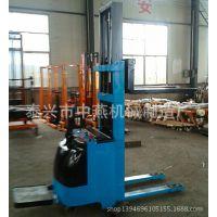 1吨3.3米高物流仓储堆高车|冷库房电动堆垛机|步行站驾式升高车