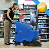 容恩洗地机R50B手推式洗地机智能型全自动洗地机价格实惠操作简单