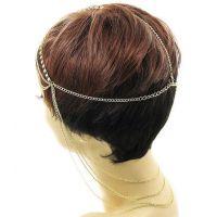 外贸单专供速卖通,EBAY 敦煌货源充足,时尚 新款钻石流苏发饰头链