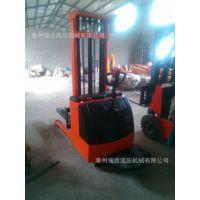 现货供应 1.5吨升高3米全电动堆高车 全电动液压叉车