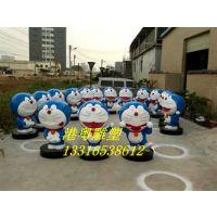 2017年Q版招财猫雕塑公仔吉祥物雕塑商场门口迎宾摆件