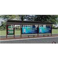 南宁港湾式公交候车亭颜值真高,防城港弧形公交站台技术精湛价格优惠!