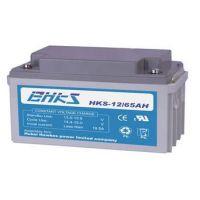 黑龙江霍克斯蓄电池HKS12/65 12V65AH原装现货/质保三年