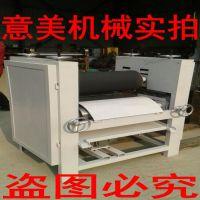 供应意美牌600型木工涂胶机单面双面滚胶机四辊上胶机型号齐全