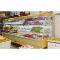 广州安德利 超市立式弧形风幕柜 水果蔬菜保鲜柜价格 风幕柜厂家大卖