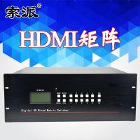 美佳爱MJ-HDMI0808L 8进8出HDMI矩阵切换器网络高清监控视频数字矩阵主机大屏拼接