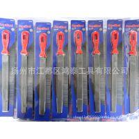 厂家直供 8寸塑柄扁钢锉 什锦锉 异型旋转锉 五金工具
