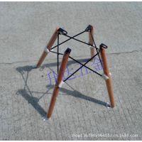 休闲椅脚/吧椅木脚/网状椅脚/椅子配件/四脚椅 木脚 四脚架 椅子