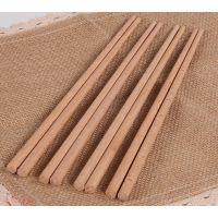 厂家直销榉木24cm筷子 木质无漆筷子 家用健康环保餐具 可印logo