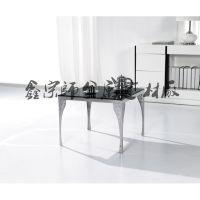 专业生产现代简约不锈钢办公会客厅茶几超低价