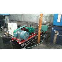 大流量高压工业管道试压泵,高压管道厂家专用三缸电动试压泵