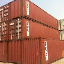 低价出售12米二手集装箱,废旧海运箱,40尺标准货柜,集卡车板架集装箱