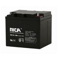 MCA蓄电池型号FC12-38青州授权销售