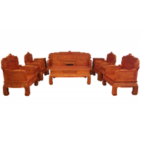 鲁创红木厂家直销--吉星高照沙发