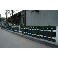 供应鸿宇筛网 pvc塑钢护栏小区庭院草坪塑护栏