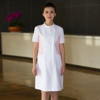 隆群HSFD-08护士服定制短袖夏季美容服工作服白大褂短袖药店工作服
