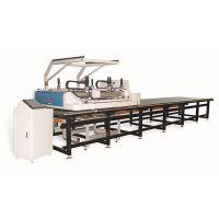 黑金刚视觉跑台丝印机HJG-K-8000-网板自动套色,多色精准套印!