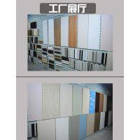华仑观色厂家定做出口定做高分子MQ系列护墙板PVC板材新材料家居装饰装修中高档木塑板