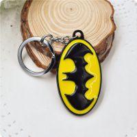 电影周边蝙蝠侠钥匙扣 锌合金钥匙扣挂件