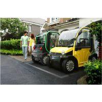 新款电动四轮车电动轿车电动汽车老年人代步车油电混合电动观光车