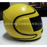 兴宏发厂家生产PU动物头盔 PU帽子配件