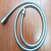 【厂家直销】不锈钢小双扣淋浴管(塑料配件)花洒软管!