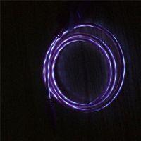 金昶手机数据线 小米 魅族 SONY通用手机发光线流光夜闪光USB充电线安卓手机通用