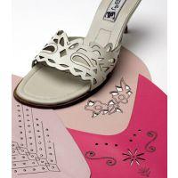 鞋材鞋底鞋垫鞋板CO2激光切割雕刻机