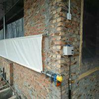 自产白色防雨篷布卷帘布 自销猪场牛场羊场透光卷帘蓬布产业用布