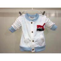 2016童装秋季新款 开衫上衣 棒球服卡通 加绒长袖 儿童外套户外衣