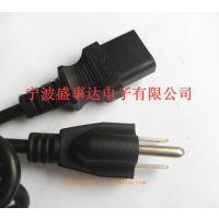 【厂家供应优质环保】低价优惠美式电源线插头 18号电源线