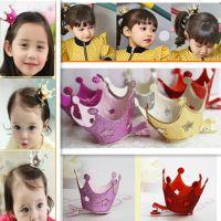 缕空星星立体皇冠发夹 外贸饰品 韩版 新品 儿童头饰 儿童发饰