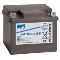 德国阳光蓄电池A412/32G6 12V/32AH产品尺寸