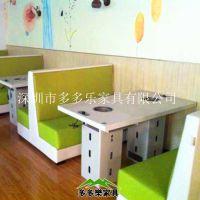 千味涮火锅店餐桌椅 火锅餐桌椅 多多乐家具