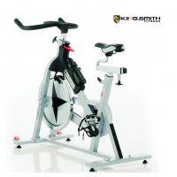 金史密斯KS160动感单车进口碳钢材质 加宽加厚设计