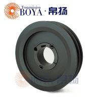 铸造皮带轮spa180-02选无锡帛扬锥套皮带轮