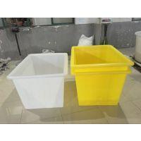 松江区pe塑料印染方箱 300L牛筋塑料周转箱供应商