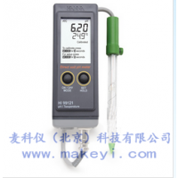 HANNA HI99121 便携式pH/温度测定仪库号:3714