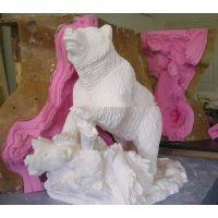 园林雕塑系列用模具硅胶 耐老化的人物雕塑模具硅胶