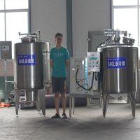 宁都乳品机械---牛奶生产线厂家【车间实图】